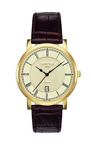 Roamer Herren-Armbanduhr CLASSIC LINE GENTS Analog Quarz 709856 48 32 07
