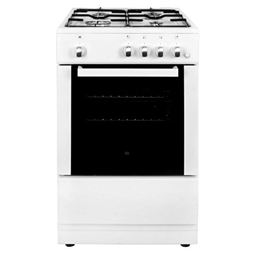 41iv845rUYL. SS500  - iQ 50cm Single Cavity Gas Cooker - White