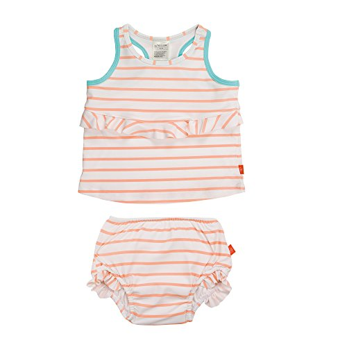 Bañador de bebé estilo tankini Lässig 1431004804, Sailor Peach multicolor Sailor Peach Talla:6 meses...