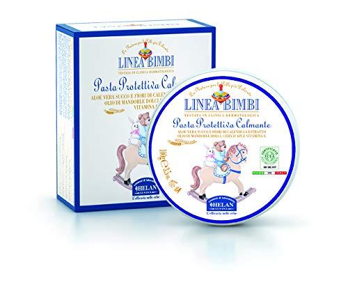 Helan cosmesi 32310 linea bimbi pasta protettiva calmante bio, 100 ml