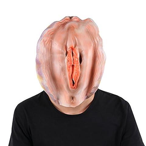 Masques Drôles De Halloween Adultes - SWEET DEVIL Masque Adulte en Latex Naturel