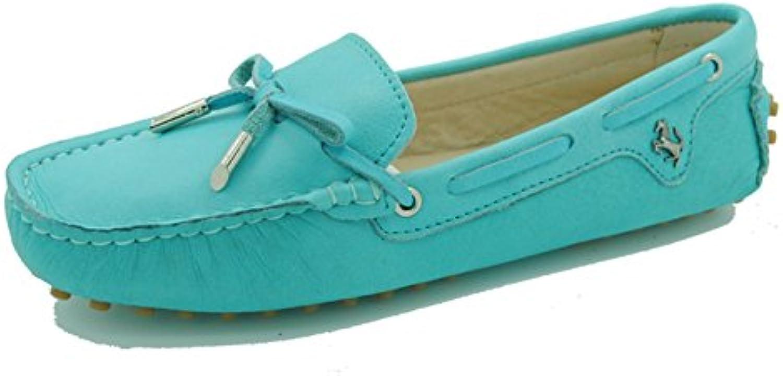 minitoo filles mesdames nubuck nubuck nubuck glisser sur les chaussures en cuir un bateau turquoise balleri nes mocassi ns m ocassins turquoise...b01e866b7c parent | Moins Cher  b28032
