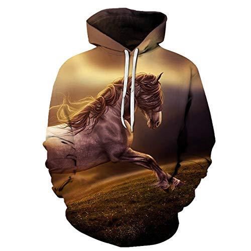 zysymx Prinzessin 3D Print Sweatshirts Männer Hoodies Trainingsanzug Pullover Herbst Winter Hoody Kapuzenmantel Marke