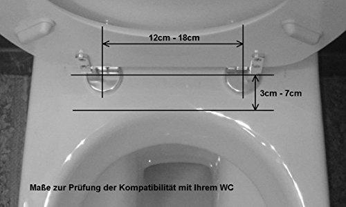 Gadingo Bidet FF-02 - Bidet Aufsatz mit Warmwasser für Intimreinigung - nachrüstbares Dusch-WC