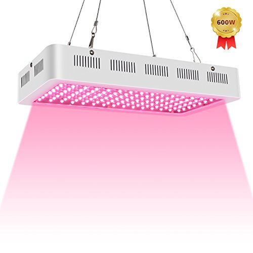 Roleadro Grow Light 600W Led cultivo Full