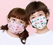 Kids Cartoon Print Pattern Face Mask 3ply Disposable 10 PCS/Bag (Random Color & Patt