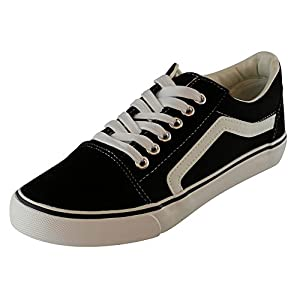 Cambridge Select Women's Classic Low Top Closed Round Toe Side Stripe Lace-up Casual Sport Skate Flatform Sneaker