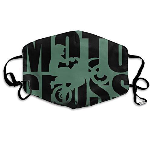 Louis Berry Staubschutzmaske, wiederverwendbar, für Männer und Frauen, Motocross, Mundmaske, Unisex (Beliebte Cosplay Weibliche)