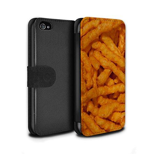 Stuff4 Coque/Etui/Housse Cuir PU Case/Cover pour Apple iPhone 4/4S / Quavers Design / Casse-Croûte Collection Nick Nacks