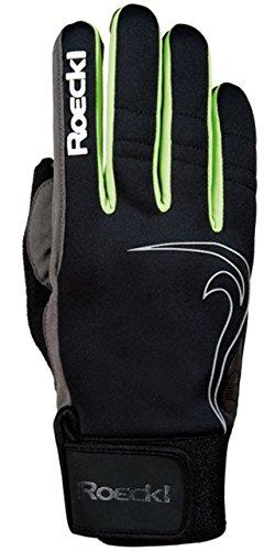 Roeckl Langlaufhandschuh Emma 6.5 schwarz/grün