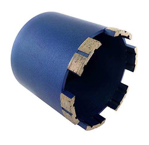 PRODIAMANT Premium Diamant-Dosensenker Mauerwerk 82 mm x M16 mit Absaugöffnungen auf der Rückseite - Diamantdosensenker 82mm
