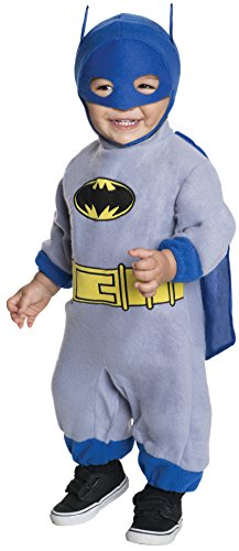 (Batman Brave And Bold Romper Batman Baby Costume 0-9 Months)