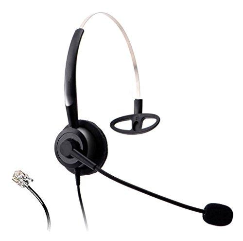 Wantek-telefono-cuffia-con-cancellazione-del-rumore-microfono-. Wantek telefono  cuffia con cancellazione del rumore microfono per Yealink ... 82864a5752ba