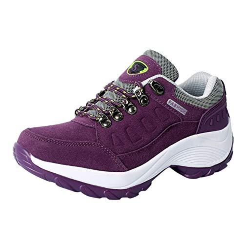 Damen Herren Sneaker Atmungsaktiv Leichtgewicht Sportschuhe Laufschuhe Wanderschuhe Outdoor Schuhe 36EU-47EU