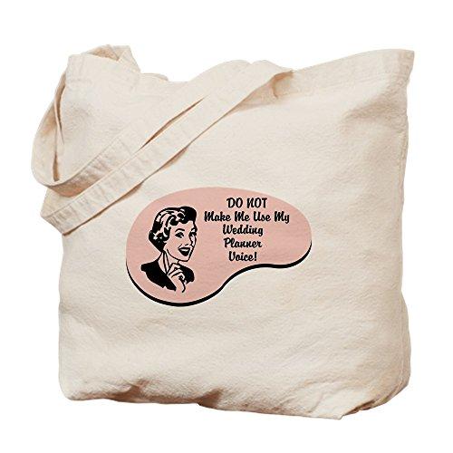 CafePress–Hochzeitsplaner Stimme–Leinwand Natur Tasche, Reinigungstuch Einkaufstasche Tote S khaki (Hochzeitsplaner Buch Bräute,)