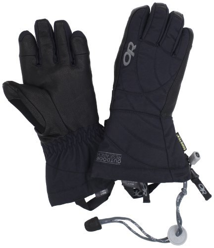 Outdoor Research Women's Southback Gloves (Black, Large) by Outdoor Research