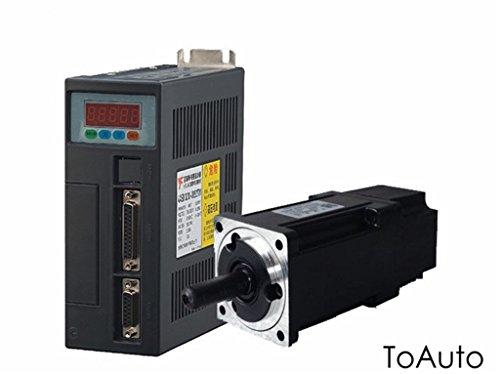AC Servo Motor Driver Control CNC Kit 400W nema243000R/min 1,26Nm Industrie Motion Controller Kit