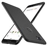 GeeMai Google Pixel 3 Hülle, [Schwarz Soft Hülle] Ultra Thin Silikon Schutzhülle Tasche Soft TPU Hüllen Handyhülle für Google Pixel 3 Smartphone