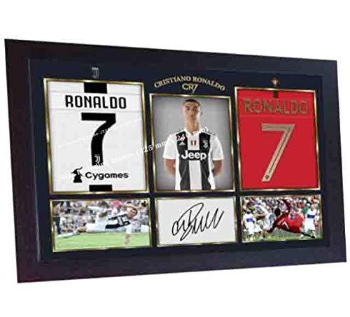 S&E DESING Cristiano Ronaldo Autogramm, gerahmt