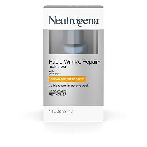 Neutrogena Rapid Wrinkle Repair Moisturizer, SPF 30 with Retinol, 29 ml (anti aging day moisturizer)