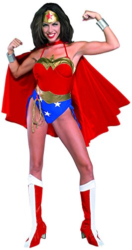 Rubie 's offiziellem Wonder Woman Erwachsenen-Kostüm-Damen Medium (Invisible Woman Halloween Kostüme)
