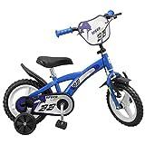Pik&Roll EAN vélo 12' Mixte Enfant, Bleu