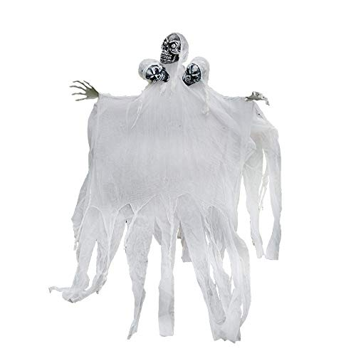 oween Dekoration Big Ghost Spukhaus Dress up Requisiten Kammer Bar KTV Horror Glowing Three Ghosts ()