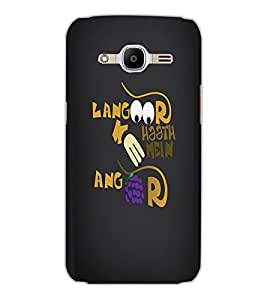 SAMSUNG GALAXY J2 2016 TEXT Back Cover by PRINTSWAG
