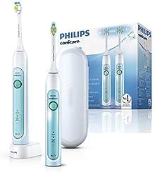 Philips Sonicare HX6732/37 HealthyWhite Spazzolino Elettrico con Tecnologia Sonicare, Confezione Doppia