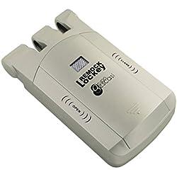 Remock Lockey RLK4G - Cerradura de seguridad invisible con 4 mandos (3 V) color dorado