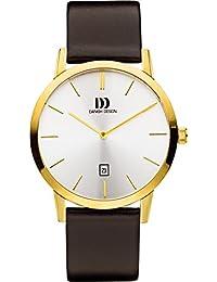 Danish Design Unisex-Armbanduhr DANISH DESIGN IQ15Q1118 Analog Quarz Leder IQ15Q1118
