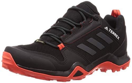 adidas Performance Terrex AX3 GTX Trail Laufschuh Herren schwarz/orange, 10.5 UK - 45 1/3 EU - 11 US