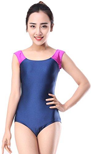 speerise-adulte-manches-courtes-en-lycra-spandex-ballet-dance-justaucorps-body-femme-rose-noir-xx-la