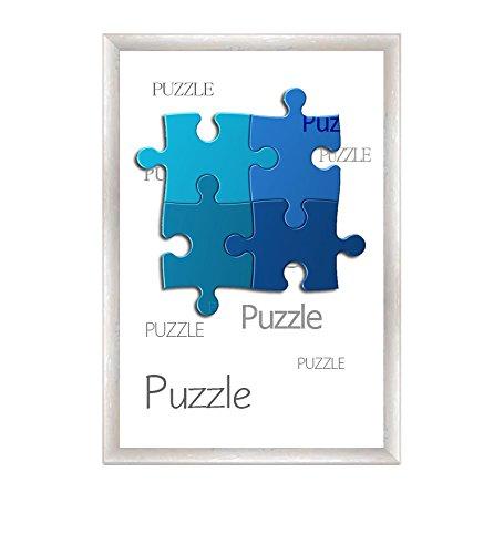 Preisvergleich Produktbild Bilderrahmen für Puzzle ca. 500-1000 Teile 50X70cm Perlmutt