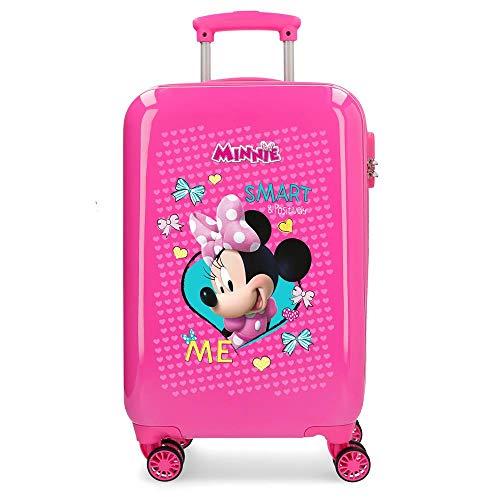Disney Happy Helpers Equipaje Infantil, 55 cm, 33 litros, Rosa