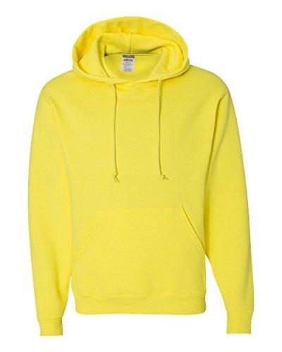 Wei§er Fu§ball auf American Apparel Fine Jersey Shirt Gelb - Neongelb