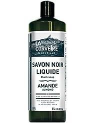 La Corvette Savon Noir Liquide Amande Ecocert 1 L