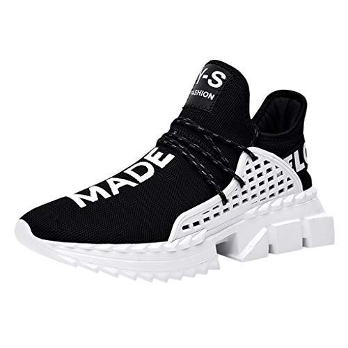 ortschuhe Kontrastfarbe Persönlichkeit Freizeitschuhe Atmungsaktiv Leichtgewicht Laufschuhe Sneaker Fitnessschuhe Ultra-Light Shoes ()