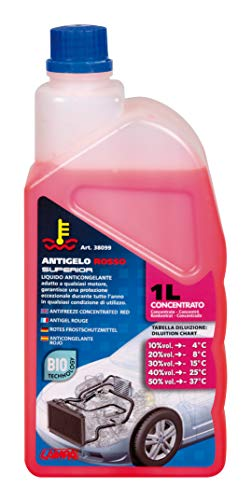 Lampa 38099 Antigelo Concentrato (-37°), Rosso, Flacone 1000 m