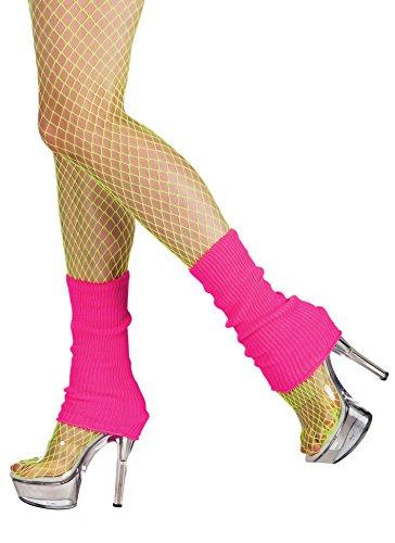 Boland 01755 - Beinwärmer für Erwachsene, pink, (80 Jahre Motto Kostüm Jungs)