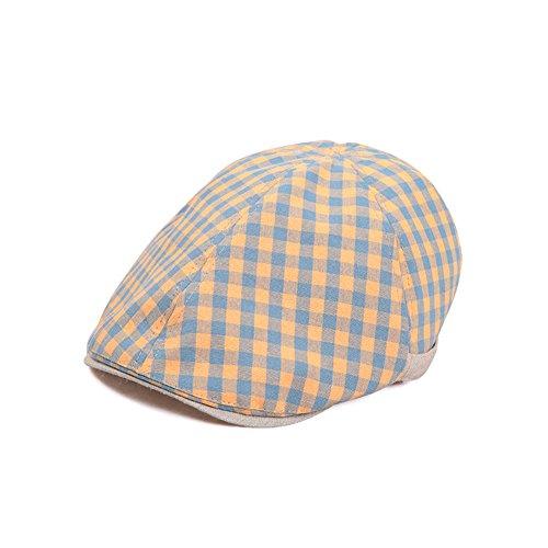 Casquette de Baseball de dames/Tissu d'ombre Cap/Chapeau de soleil Casual/Chapeau de soleil Jaune