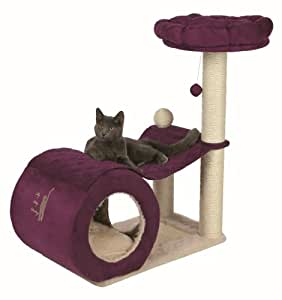 my kitty darling arbre chat 90 cm cr me violet animalerie. Black Bedroom Furniture Sets. Home Design Ideas
