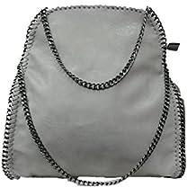Limited-Colors Vivien cuero look Mujer Negro Gris Rosa Jeans Shopper Bolsa Bolsa de mano