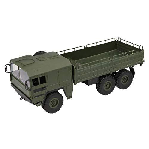 happy event JJRC Q64 RC 1:16 2,4G Fernbedienung 6WD verfolgt militärisches LKW-Geländewagen RTR (Grün)