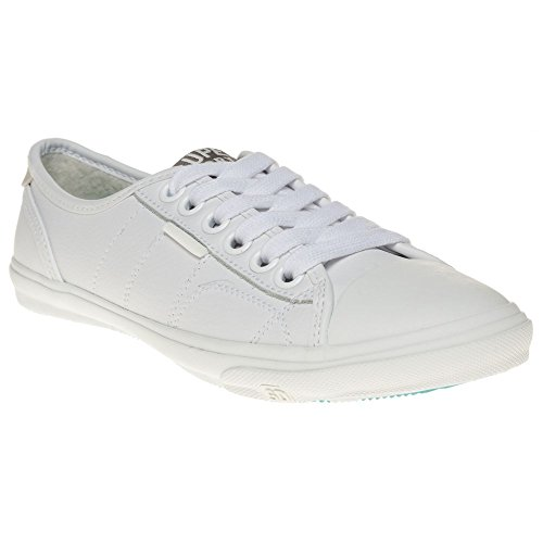 Superdry Low Pro Donna Sneaker Bianco