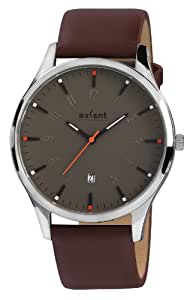 Axcent of Scandinavia - IX50981-016 - Scout - Montre Homme - Quartz Analogique - Cadran Marron - Bracelet Cuir Marron