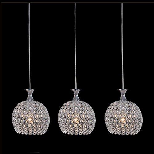 Pendelleuchte LED Chrom Hängeleuchte Modern Mode Luxus Kugeln Design K9  Kristall Hängende Esstischlampe Für Esstisch Küche Wohnzimmer Schlafzimmer  Hotel Bar ...
