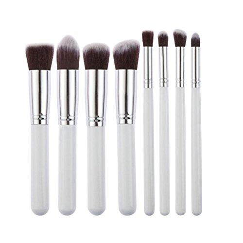 LianLe®8PCS Pinceau Brosse Blush Fard à Joues Fond de Teint Poudre Libre Maquillage