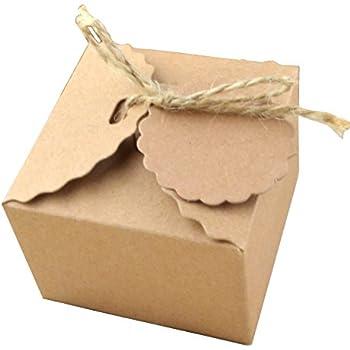 Scatola cartone canete 39 dim cm 14x14x8 per bomboniere e for Amazon oggettistica