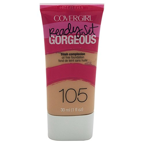 CoverGirl Ready, Set Gorgeous Liquid Makeup Foundation (Classic Ivory) -